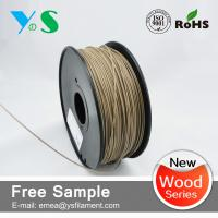 Quality Dark Brown 3mm Wood 3D Printer Filament Glossy For Reprap 3D Printer for sale