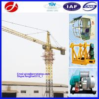 Buy cheap Yuanxin Factory good operation 1T- 4T YX4808 Yuanxin tower crane for sale from wholesalers