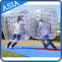 Buy cheap Traspatent Inflatable Bubble Suits from wholesalers