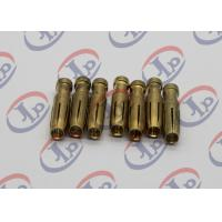 Buy cheap Swiss Fininshing Brass Machined PartsBoth Ends Straight Hole Brass Female Pins from wholesalers