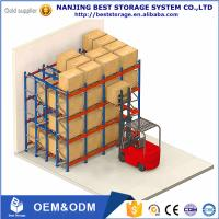 Buy cheap Lower cost China supplier Storage Equipment Warehouse Pallet Rack ,Very Narrow Aisle Selective Warehouse Rack from wholesalers