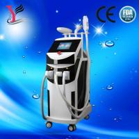 Buy cheap multifunction E light/RF/Nd-yag laser/ipl hair removal machine /Elight Wrinkle removal from wholesalers