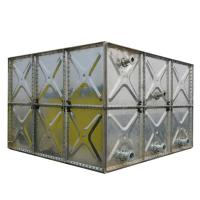 Buy cheap Strong Plate Panel Galvanised Steel Water Tank , Bolt Assembly 250 Gallon Storage Tank from wholesalers