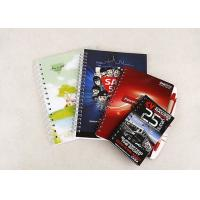 Buy cheap Full Color Printing Promotional Spiral Notebooks Custom Logo Custom Hardback Notebook from wholesalers