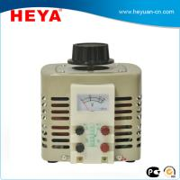 Buy cheap 110/220V380V single phase TDGC2 2KVA AC power contact type voltage regulator from wholesalers