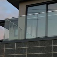 Buy cheap aluminum u channel glassbalustrade, u channel glass railing from wholesalers