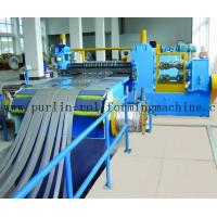 Buy cheap Automatic Control Metal Slitting Machine Durable Carbon Steel / Galvanized Coils from wholesalers