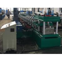 Buy cheap 2 Waves Guard Rail Roll Forming Machine 37KW + 11KW Gear Box Hydraulic Decoiler from wholesalers
