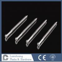 Buy cheap 50 x 2.8mm  Lost Head Annular Ring Shank Stainless Steel Nails for timbers from wholesalers
