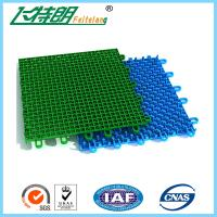 Buy cheap Colored Outdoor PP Suspended Interlocking Rubber Floor Tiles Modular Hockey Flooring product