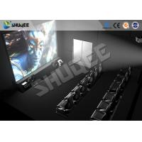 Buy cheap High Class Hydraulic / Servo Motor 5D 7D 9D Theater System With True Adventures from wholesalers