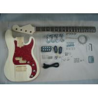 Buy cheap Four String HB Bass DIY Electric Guitar Kits With Pearl Loid Pickguard AG-BS2 from wholesalers