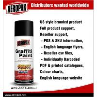 Buy cheap Aeropak Interior And Exterior Graffiti Spray Paints OEM For Concrete / Asphalt from wholesalers