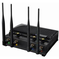 Buy cheap China Signal jammer | Adjustable Desktop Cell Phone Jammer with Four Bands product