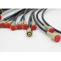 Buy cheap Red Jacket Flexible High Pressure Test Hose With Wires / Fibers Reinforcement from wholesalers