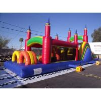 Buy cheap Pinnacles Inflatable Obstacle Course Comercial Ertical Rush Obstacle Course from wholesalers