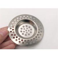 Multihole Stainless Steel Sink Strainer High Grade Anti - Clogging