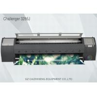 Buy cheap Solvent Large Format Inkjet Printing Machine Simple Easy Operation Challenger 3286J from wholesalers