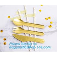 Buy cheap paper folk, paper knife, paper spoon, paper straw, paper cultery, paper party supplies, paper plate, paper bowl, paper from wholesalers