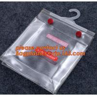Buy cheap Foldable Coat Stereo Clear Hanging Hook Hanger Bag*,garment packing printed hanger bags with snap button closure bagease from wholesalers