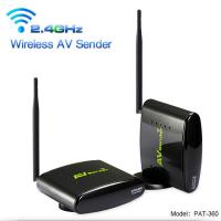 Buy cheap PAT-360 2.4 GHz Camera Analog Signal video wireless Transmitter with Long Range Transmit Distance PAKITE Brand from wholesalers