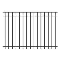 Buy cheap 1200mm Height Child - Safe Decorative Steel Fencing Playground And Pool Use from wholesalers