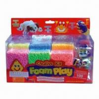 Buy cheap DIY Toy Play Foam/Ball Clay Toy Set, Suitable for Kids Art and Craft from wholesalers