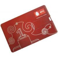 Buy cheap Red 8G 16G Credit Card USB Drive Pendrive Memory Stick Flash Card from wholesalers