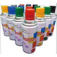 Buy cheap fast dry  auto  acrylic Aerosol spray paint  ,transprant  and other colors , SANO brand  ,400ml ,238G from wholesalers