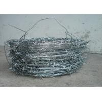 Buy cheap 1.5cm - 3cm High Tensile Fencing Barbed Wire 16 * 16 Double Strand For Fence from wholesalers