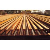 Buy cheap Light Railroad Track Steel Crane Rail , Girder Carrier GB Standard from wholesalers