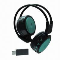 Buy cheap Wireless Stereo Bluetooth Headset with 20 to 20kHz, Supports SD TF Card, FM Radio and USB 2.1 from wholesalers