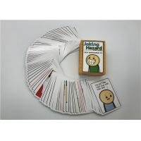 Buy cheap 100pcs Joking Hazard Card Game Custom Playing Cards English Version Easy Carry product