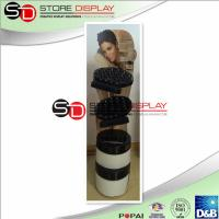 Top quality Novel Corrugated Cardboard Floor Display Glossy PP LAM For Skin Care Product for sale
