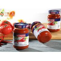 Organic Pure Canned Tomato Paste In Glass Jars / Drums / Cans For Restaurant
