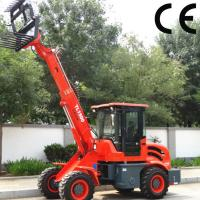 Buy cheap popular used telescopic wheel loader TL1500 with sand spreader, 1.5 ton mini backhoe loade product