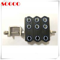 Buy cheap M8 Threaded Hole Feeder Cable Clamp For ZTE Huawei Base Station CE / RoHS from wholesalers