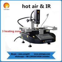 Buy cheap WDS-430 macbook hot air smd rework soldering station with infrared heating repair machine from wholesalers