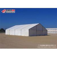Buy cheap ABS Solid Wall PVC Roof Big White Tents For Weddings UV Resistant Eco Friendly from wholesalers