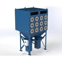 Buy cheap Powder Coating Dust Collector Pulse Cleaning Technology Good Air Capacity from wholesalers