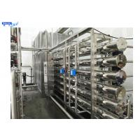 Buy cheap SS316L Storage Purified Water System In Pharmaceutical Industry Pure Water Filtration Purification System from wholesalers
