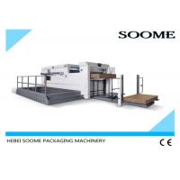 Buy cheap Creasing Semi Automatic Die Cutting Machine With Front Conveyor Delivery Mechanism from wholesalers