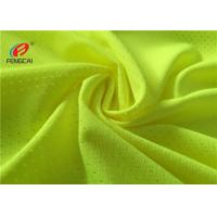 Buy cheap 100 Polyester Mesh Lining Sports Mesh Fabric Football Jersey Fabric For Sportswear from wholesalers