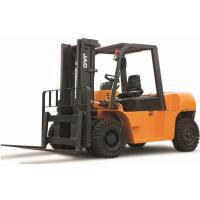 Buy cheap 7 Ton Diesel Forklift Truck Large Loading Capacity Small Turning Radius CE Certificated product