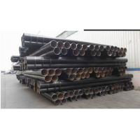 Buy cheap Black 3PE Anti-Corruption Coated Welded Steel Pipe Bevelled Or Plain End ISO9001 from wholesalers