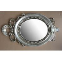 Buy cheap lovely design wooden oval mirror frame product