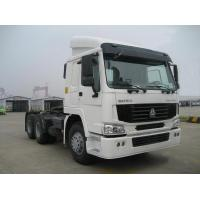 Buy cheap White Color 6X4 10 Wheelers Tractor Truck 371Hp Diesel Fuel Type Euro 3 from wholesalers