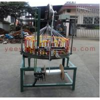 Buy cheap YY100 series 108 spindle middle speed fishing line/cord rope braiding machine/gift bag rope weaving machine from wholesalers