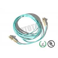 Buy cheap 2F ZIP 2.0mm Lc Fiber Patch Cord OM4 B/I For Data Processing Networks product