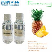 Buy cheap High quality USP grade Tobacco/fruit/mint aroma most popular Concentration Pineapple flavor for vape from wholesalers